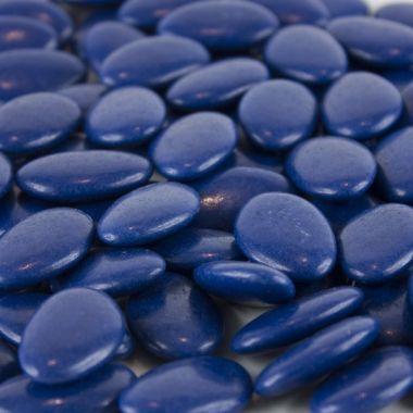 Dragées Chocolat 54%  Bleu Marine