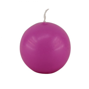 Bougie Boule Fuschia 6 cm