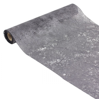 Chemin de table Gris Anthracite