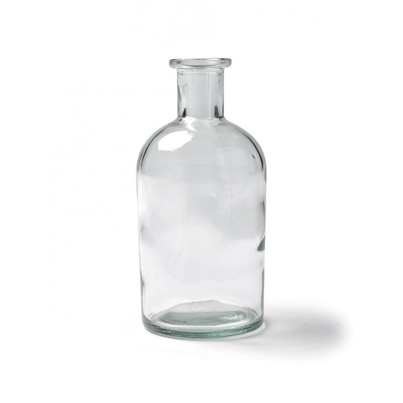 Vase bouteille carrée