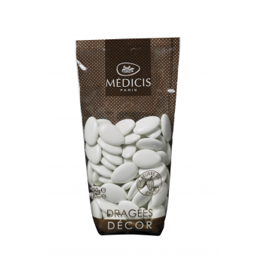Dragées Médicis Chocolat 70% Blanc