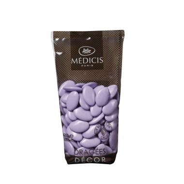 Dragées Médicis Chocolat 70% Mauve