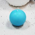 Bougie Boule Turquoise 6 cm