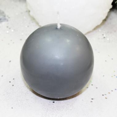Bougie Boule Noir 8 cm