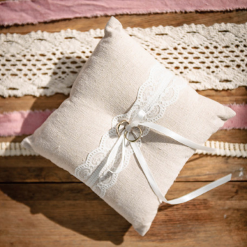 Coussin Alliances Jute
