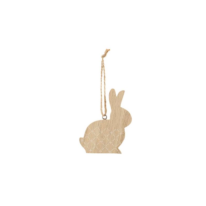 Lapin en bois