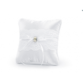 Coussin alliances Blanc
