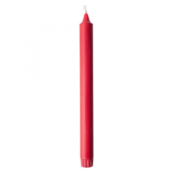 4 Bougies chandelle Rouge