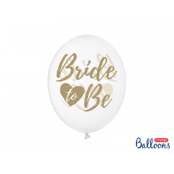 6 ballons Bride To Be