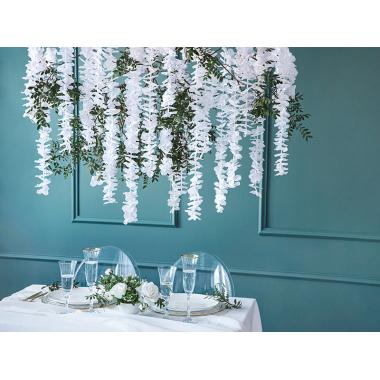 Guirlande de fleurs Blanches