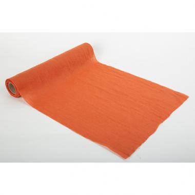 Chemin de table Orange Brulée